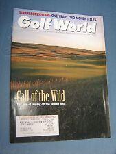 October 20, 1995 old vintage Golf World magazine