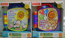 FISHER PRICE LAUGH & LEARN TEDDY'S SHAPES & COLORS COUNTING ANIMAL FRIENDS NEW*