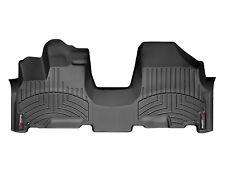 WeatherTech FloorLiner - Honda Odyssey - 2005-2010 - 1st Row - OTH - Black