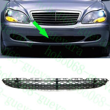 1x Car Auto Front Bumper ABS Lower Grille Grid For Benz W220 S-Class 1999-2005