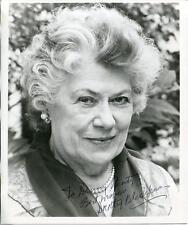Dorothy Blackburn Autograph Actres In The Boston Strangler Signed Photo
