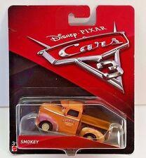 Disney Pixar Cars 3 Smokey 1:55 Die-Cast Car New  Ships in a Box.