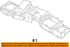 Dodge CHRYSLER OEM Ram 1500-A/C AC Evaporator Core Case-Upper Case 5073955AB