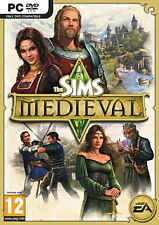 NEW*SEALED PC Game THE SIMS MEDIEVAL LIMITED EDITION (PC) FACTORY SEALED