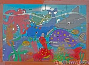 Under the Sea Wooden Puzzle