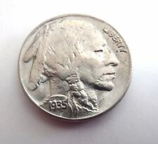 1935 US SILVER  BUFFALO NICKEL 5ct COIN  BU BEAUTIFUL COIN