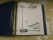 Kobelco LK200 Wheel Loader Factory Shop Service Repair Manual