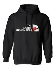 """Game of Thrones """"The North Remembers"""" Direwolf Mens & Youth Hooded Sweatshirt"""