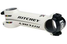 Attacco manubrio bici corsa Ritchey WCS bianco bike stem wet white 31,8 90-120