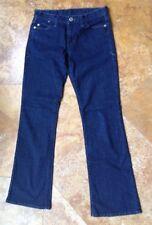 Armani Exchange 100% Cotton Crop Jeans, Dark Wash, Size 4 Short