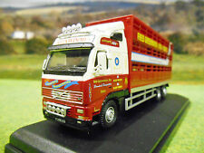 OXFORD VOLVO FH FRED GREENWOOD RIGID LIVESTOCK LORRY1/76 BOXED & NEW 76VOL01LS