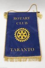 Gagliardetto rotary club taranto anni 70