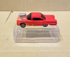 "Racing Champions  '60 Chevrolet Impala  , red body 1/64 scale 3"" length approx"