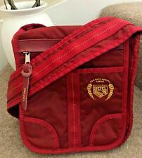 DIESEL Bag Red Crossbody Messenger Handbag Canvas