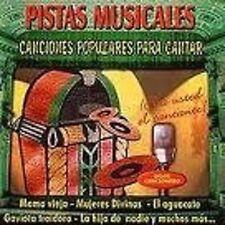 Pistas Musicales Canciones Populares Para Cantar (CD, 2001)