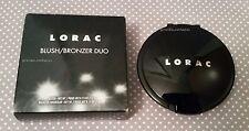 Lorac- Blush/Bronzer Duo: Hot Flash. New!