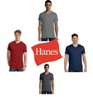 4 Pack of Hanes Short sleeve (V-neck) T-shirt | soft 100% Ringspun Nano - 498V