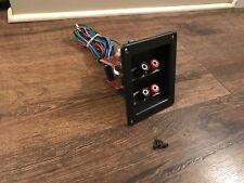 Paradigm Monitor 9 Speaker Jack Terminal Hookup Great Shape. Tested. Free Ship