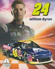 2019 William Byron Axalta Chevy Camaro NASCAR MENCS postcard