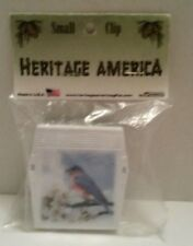 Heritage America Blue Bird Refrigerator Clip Magnet NEW!