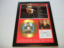 GEORGE MICHAEL    SIGNED GOLD CD   DISC   NEW 1