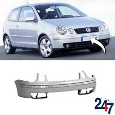 NEW VOLKSWAGEN VW POLO 2001 - 2005 FRONT BUMPER WITHOUT HEADLIGHT WASHER HOLES