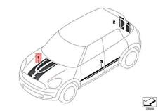 Genuine Mini Cooper Jcw R60 Set Trim Strip Engine Compartment Lid 51149811272