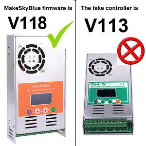 60AV118  MPPT Solar Controller  USA Authorized/Service Center/Tech Support