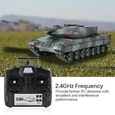 Heng Long 3889-1 1/16 Scale 2.4GHz RC Simulation Model Leopard 2 A6 RC Tank ☆