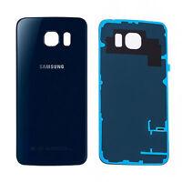Backcover SAMSUNG Galaxy S6 EDGE G925F Backcover Akkudeckel Rückseite Schwarz