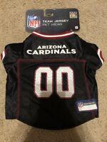 Pets First Arizona Cardinals NFL Mesh Pet Jersey, Small