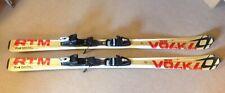 Volkl RTM Skis W/ Adjustable Bindings 156 cm