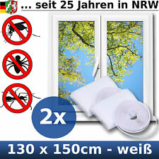 Fliegengitter Insektenschutz Mückenschutz für Fenster Dachfenster 130 x 150 cm