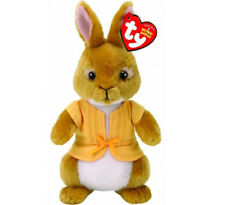 "TY Beanie Baby 8"" MOPSY Stuffed Animal Plush w/ Heart Tags (Peter Rabbit Movie)"