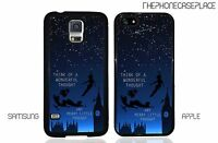 Disney Peter Pan Wonderful Thought Flying the Night Apple or Samsung Phone Case