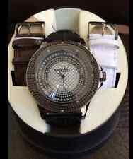 Ice Maxx Real Diamond Black Tone Mens Watch NWT