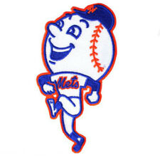 """New York Mets MR. MET Team Mascot Embroidered Sewn/Iron On Patch 2 3/4"""""""