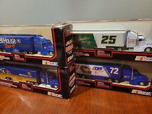 Lot of 4 1992 RACING CHAMPIONS  1:64 DIE-CAST ULTRA TEAM TRANSPORTER NASCAR