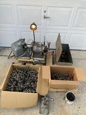 Sioux Valve Face Grinder Machine 680 w/ Lots of Parts!