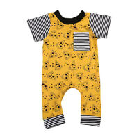 Infant Baby Girls Boys Cute One-piece Romper Outfits Costume Jumpsuit Bodysuit