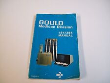 Gould Modicon Davision 184/384 Programmable Controller Manual - Free Shipping