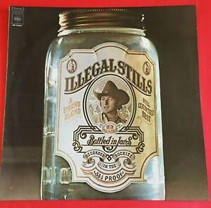 Stephen Stills Illegal Stills LP with Lyric Sheet 1976