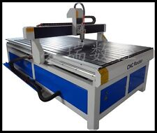 "New 1224 CNC Router Engraver Machine 2.2kw Motor 48""x96""x6"" WorkSize Ship by Sea"