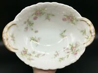 Theodore Haviland Limoges France SCHLEIGER-Scattered Flowers-Vegetable Bowl 10""