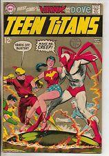 DC Comics Teen Titans #21 June 1969 Neal Adams Art Hawk & Dove VG+