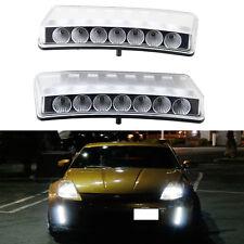 For 03-05 Nissan 350Z LED DRL Daytime Running Light Switchback Bumper Reflector