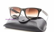 RAY BAN RB 4195 6033/13 Brown/Brown 52MM WAYFARER LITEFORCE Sunglasses NWT AUTH