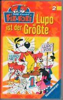 FIX & FOXI 2 - LUPO IST DER GRÖSSTE - VHS Film Movie Kassette Zeichentrick