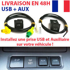 Cable AUX et USB VW GOLF JETTA SCIROCCO POLO RCD510 RNS510 RNS315 RCD310 RCD300