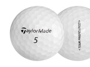 2 Dozen Taylor Made Tour Preferred Mint Factory Renewed Golf Balls No Logos
